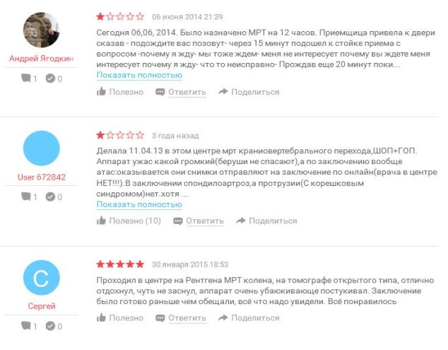 Отзывы о ЦМРТ Петроград