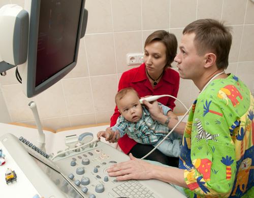 Проведение нейросонографии ребенку