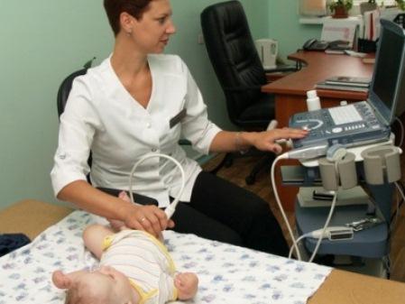 УЗИ новорожденному в роддоме