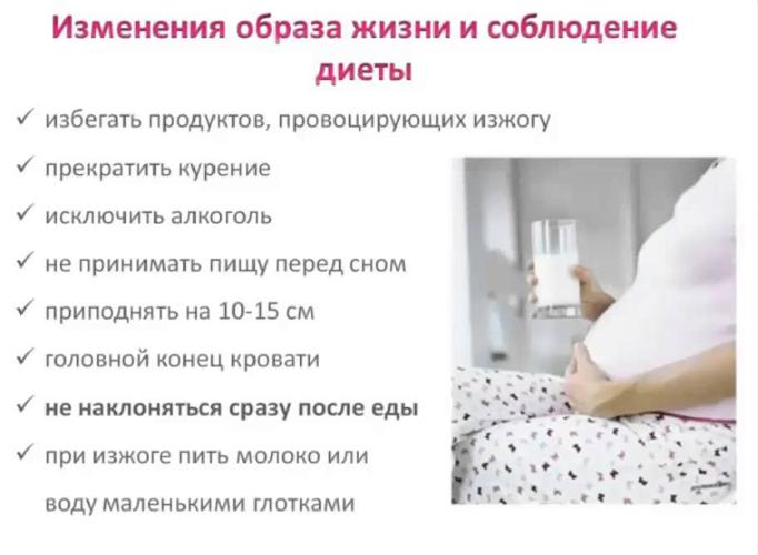 Способы устранить изжогу при беременности