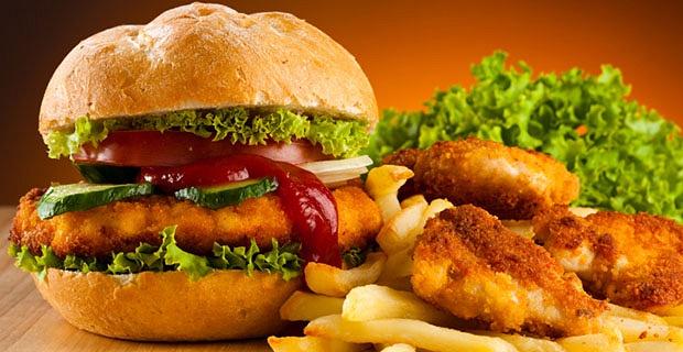 Фаст-фуд — пища, которая часто способствует развитию дисбактериоза