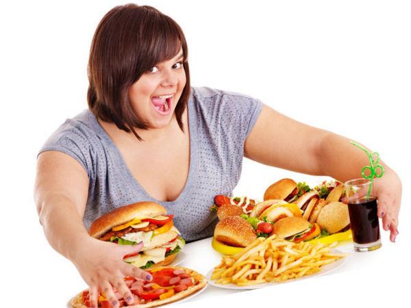 При лечении изжоги очень важно избегать переедания