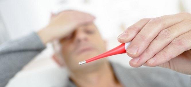 Лихорадка — частый симптом отравления трупным ядом