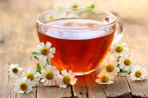 Ромашковый чай от простуды
