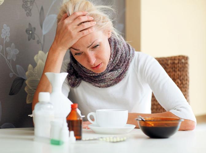 Простуда без температуры у женщин