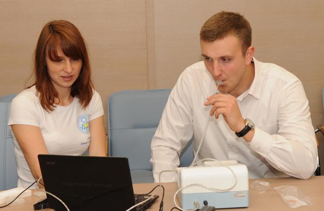 Дыхательный тест на Хеликобактер у мужчин