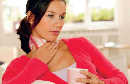 При простуде нередко может пропасть голос