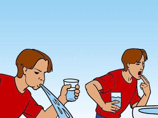 Очистка желудка при попадании ацетона внутрь