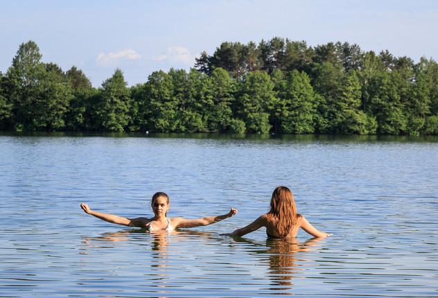 Озера и реки — частый источник заражения церкариозом