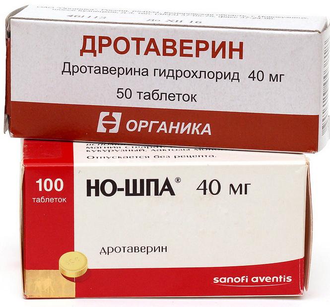 Спазмолитики и анальгетики при панкреатите