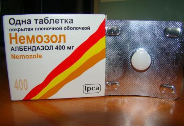 медикаменты от паразитов