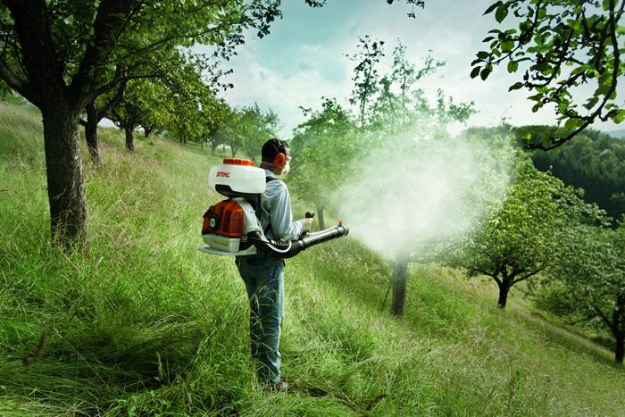 Уничтожение клещей с помощью инсектицидов