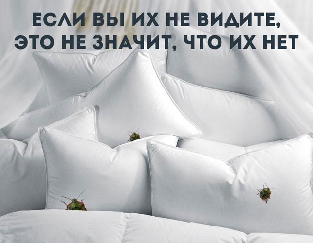 Пылевые клещи оседают в постельном белье