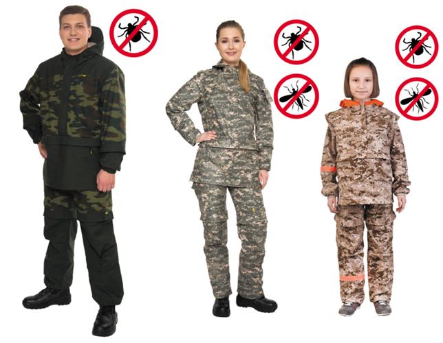 Линейка костюмов Биостоп