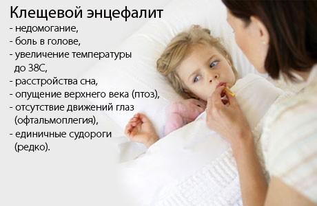 Как лечится клещевой энцефалит и чем он опасен? simptomy-kleshchevogo-entsefalita-u-detey