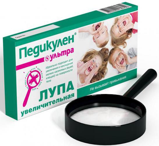 Насколько эффективно средство педикулен? pedikulen_lupa-box