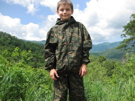 Детский противоэнцефалитный костюм