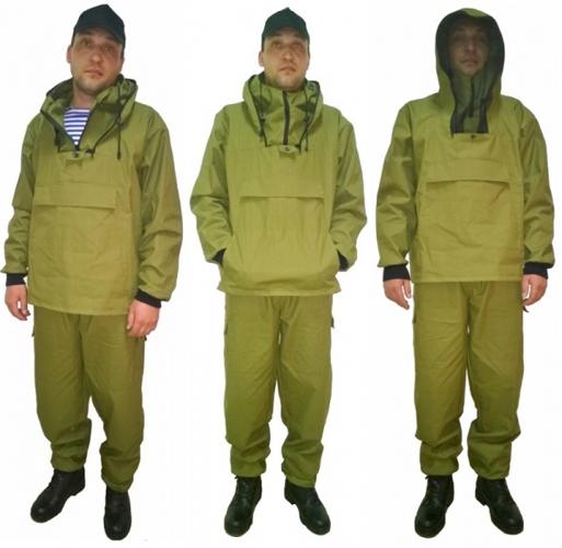 Зеленый (лесной) противоэнцефалитный костюм
