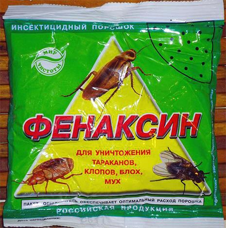 Насколько эффективен Фенаксин от клопов? fenaksin-ot-klopov