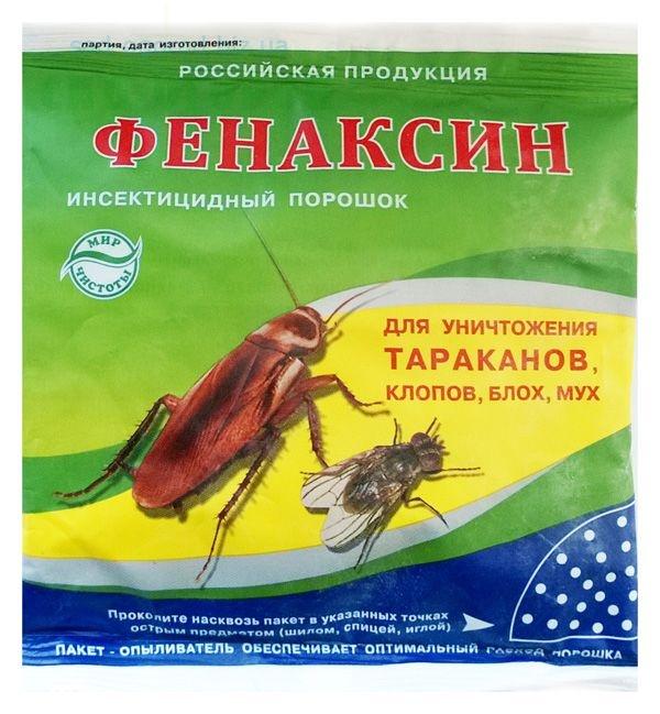 Насколько эффективен Фенаксин от клопов? fenaksin_ot_nasekomih