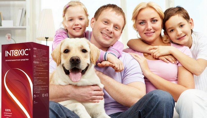 По заверениям производителей, препарат Интоксик подходит для лечения всей семьи