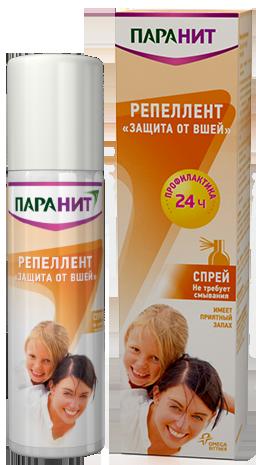 Насколько эффективно средство Паранит от педикулеза? paranit_repellent