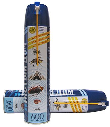 Аэрозоль Чистый Дом от клопов и других насекомых