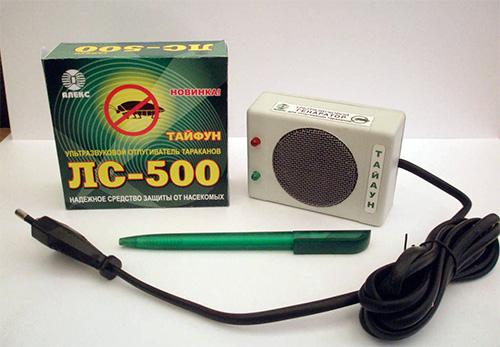Ультразвуковой отпугиватель клопов ЛС-500
