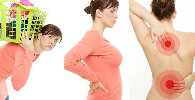 При дорсопатии боли усиливаются во время физической активности