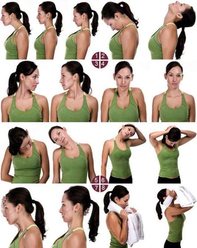 Комплекс упражнений для шейного отдела