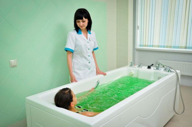 Бальнеотерапия при остеохондрозе