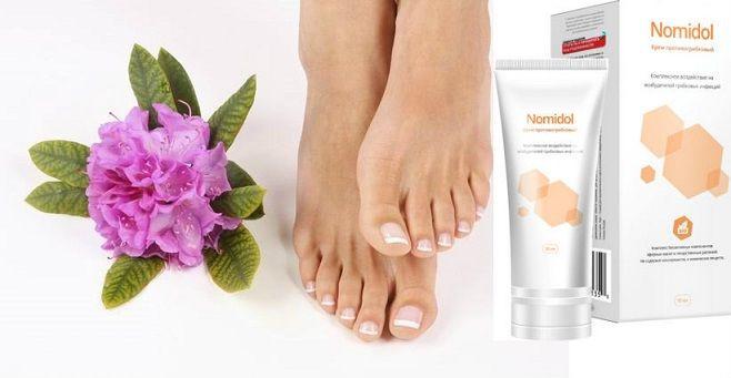 Nomidol - крем от грибка ног original