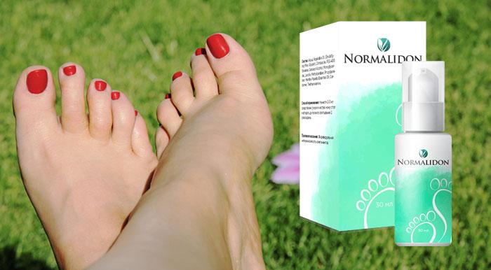Normalidon - грибок ногтей