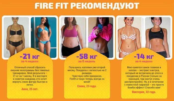 Капли для похудения Fire Fit fire-fit-kapli-rekomendut